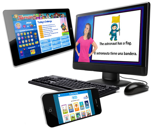 Skoolbo is compatible with most internet-connected devices via web browser